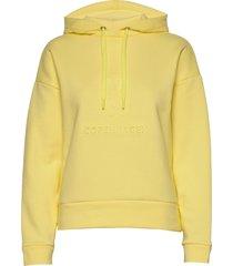 eco bold sweat tilsa embo hoodie trui geel mads nørgaard