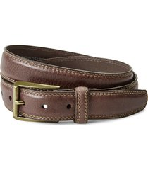 double stitch dress belt