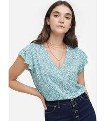 blusa manga corta con bolero