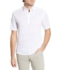 men's eton soft casual line slim fit pique polo shirt