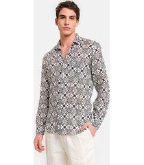 peninsula swimwear shirt sperlonga linen