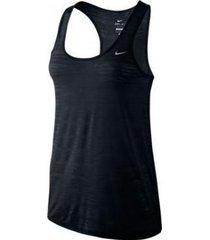 camiseta dama nike 589030-010 negro