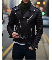 mens biker leather jacket, mens fashion black motorcycle jacket, mens jackets