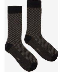 b print socks blue 36