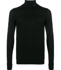 ambush fitted turtleneck top - black