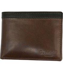 duchamp london men's rfid genuine leather pass case wallet