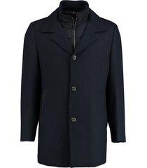 bos bright blue geke coat 19301ge01bo/240 blue
