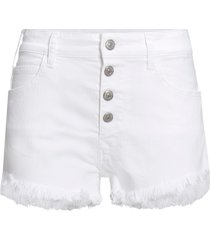 shorts med knappgylf