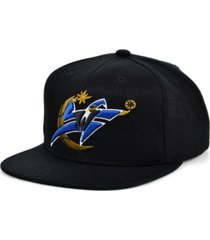 mitchell & ness washington wizards hwc basic classic snapback cap