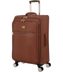 "it girl 27"" compelling softside semi-expandable spinner suitcase"