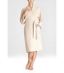 natori nirvana brushed terry sleep & lounge bath wrap robe, women's, size xl natori