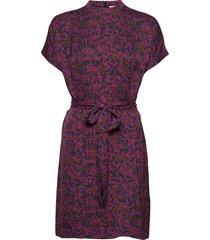 kimberly ss dress aop 8325 korte jurk multi/patroon samsøe samsøe