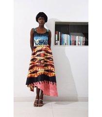 jire printed midi dress