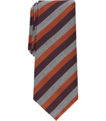 alfani men's pierrard stripe tie, created for macy's