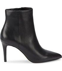 lasting heeled ankle booties