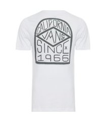 camiseta masculina dak diamond - branco