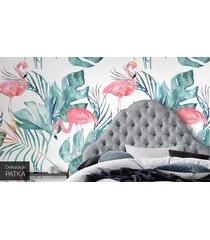 flamingi - fototapeta