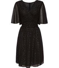 klänning metallic butter dress