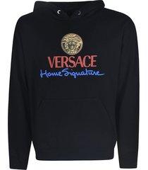 versace home signature hoodie