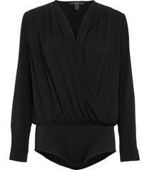 blouses woven t-shirts & tops bodies svart esprit collection