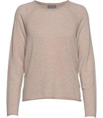 cualaia pullover stickad tröja beige culture