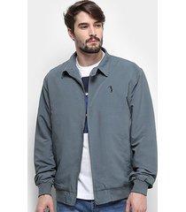 jaqueta aleatory bordado masculina