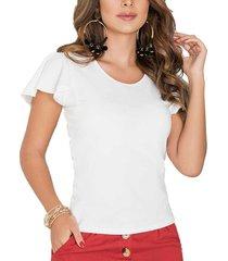 blusa dorothy blanco para mujer croydon