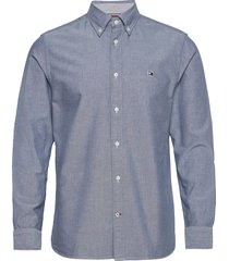classic oxford shirt overhemd casual blauw tommy hilfiger