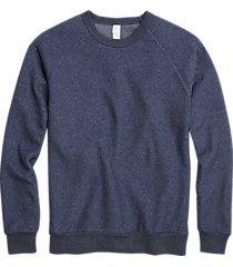 alternative apparel champ eco-teddy sweatshirt navy