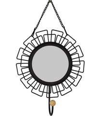 cabideiro espelho sol kasa ideia - multicolorido - dafiti