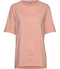 band tee t-shirts & tops short-sleeved rosa holzweiler
