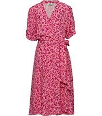 flower jam durilina jurk knielengte roze mads nørgaard