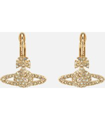 vivienne westwood women's grace bas relief earrings - gold aurore