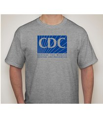 cdc centers for disease control and prevention t-shirt