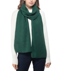 style & co rib solid scarf with lurex, created for macy's