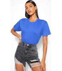 basic oversized t-shirt, blue