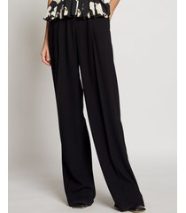 proenza schouler textured crepe high waisted pants black 6