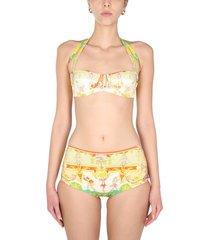 etro bikini swimsuit with scarf print