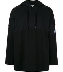 martine rose oversized fit hoodie - black