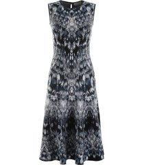 alexander mcqueen archive print dress