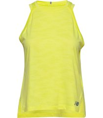 q speed jacquard tank t-shirts & tops sleeveless gul new balance