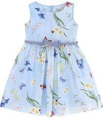 monnalisa flowers ramage dress