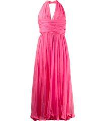 a.n.g.e.l.o. vintage cult 1960's halter dress - pink