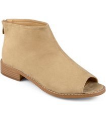 journee collection women's reya bootie women's shoes