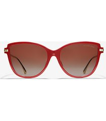 mk occhiali da sole sorrento - terra (naturale) - michael kors