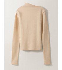 lemaire asymetrical collar sweater