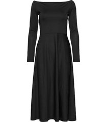 benedicte jacq. dress knälång klänning svart residus