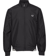 twin tipped sports jkt bomberjacka jacka svart fred perry