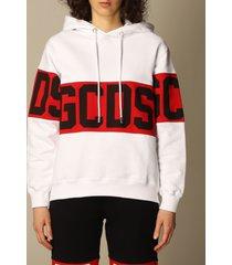 gcds sweatshirt gcds hoodie with big logo