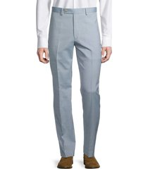 lauren ralph lauren men's flat-front pants - light blue - size 36 32